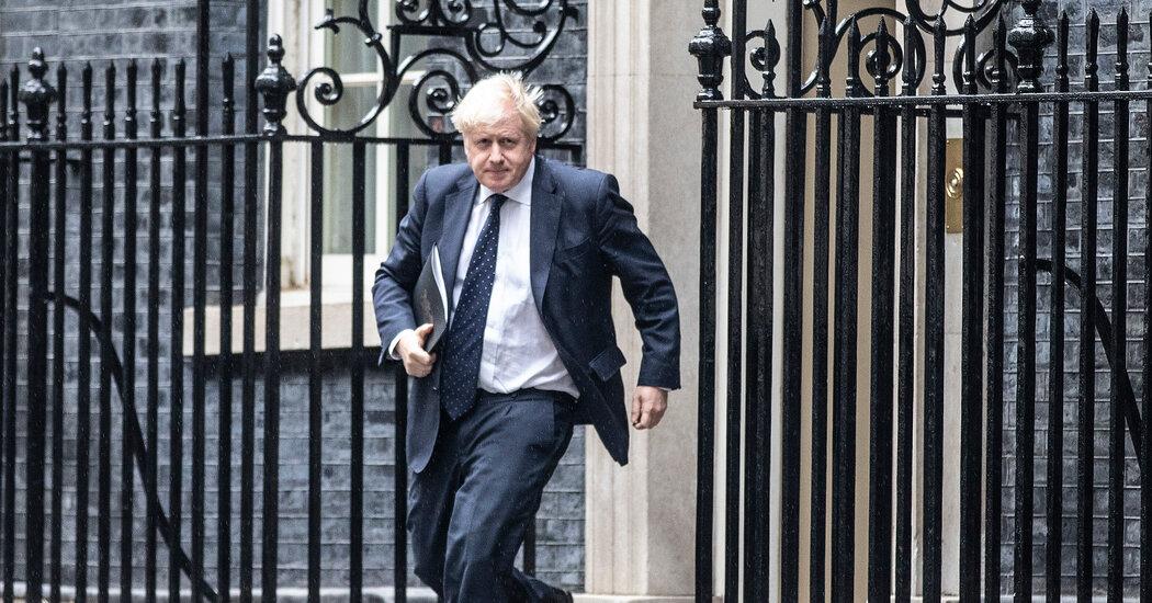 Boris Johnson Moves Foreign Secretary in Cabinet Reshuffle